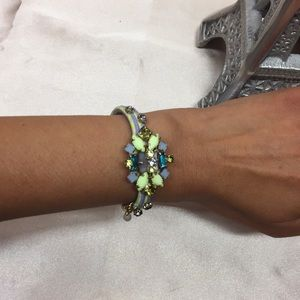 J Crew / Crew Cuts Crystal Bracelet